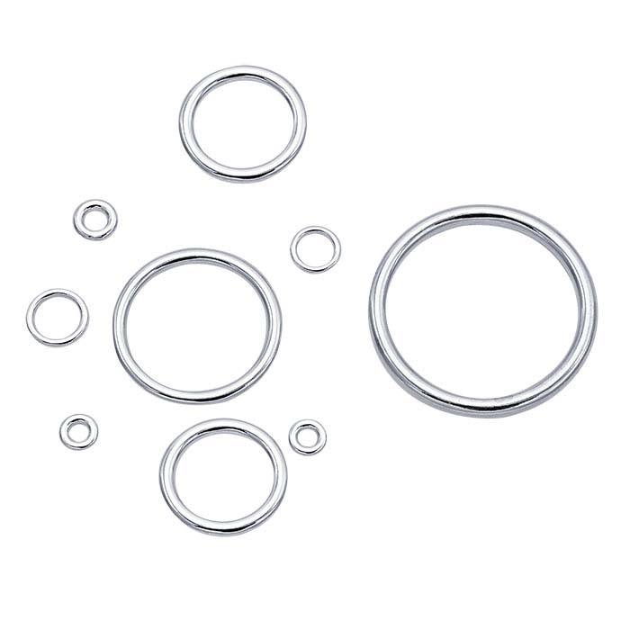 Sterling Silver 3.6mm Round Closed Ring
