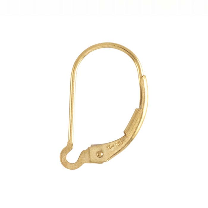 14/20 Yellow Gold-Filled Interchangeable Lever-Back Ear Wire