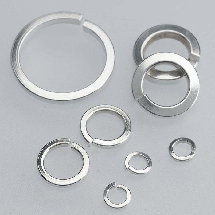 Sterling Silver 2.4mm Round Square-Wire Jump Ring