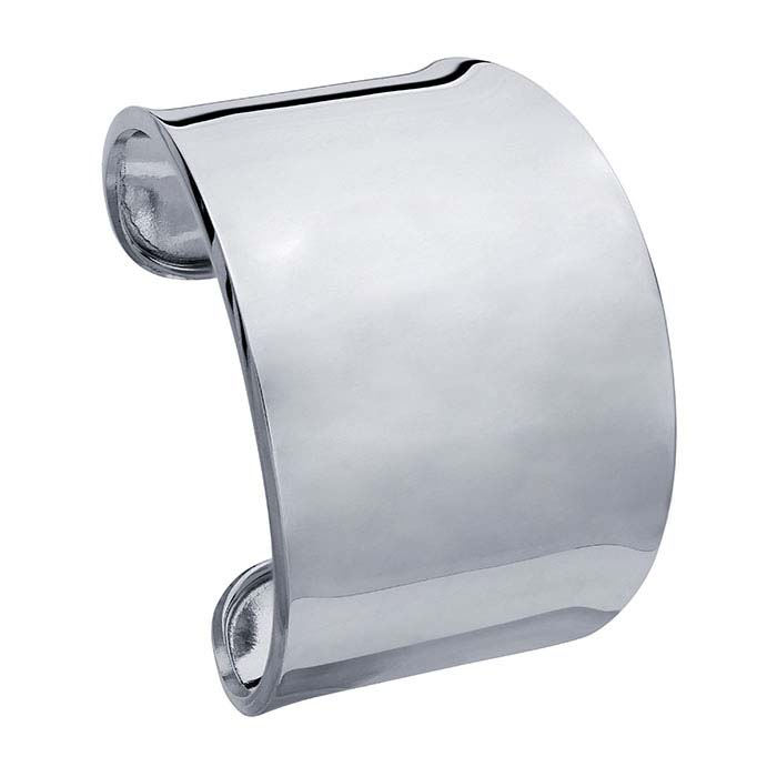 Sterling Silver Tapered Cuff Bracelet