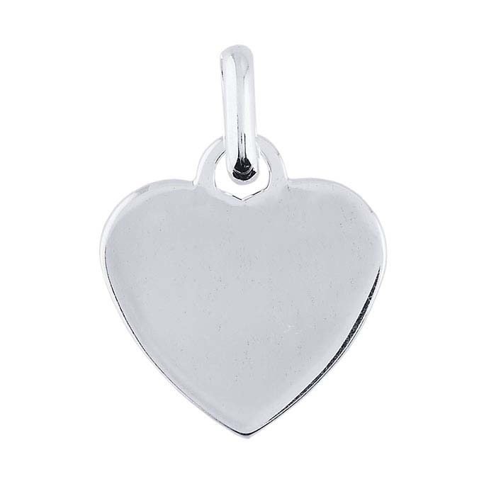 Sterling Silver Heart Pendant Charm