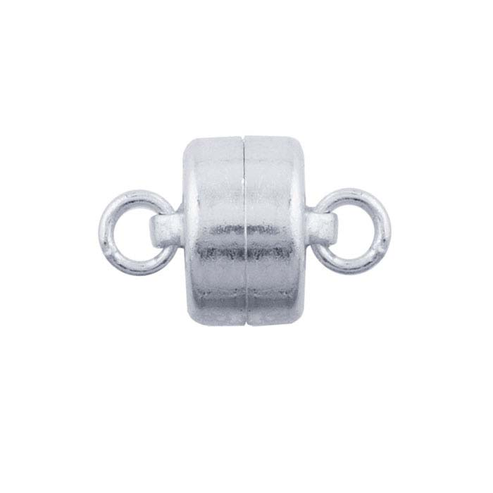 Sterling Silver Mag-Lok Button Magnetic Clasp
