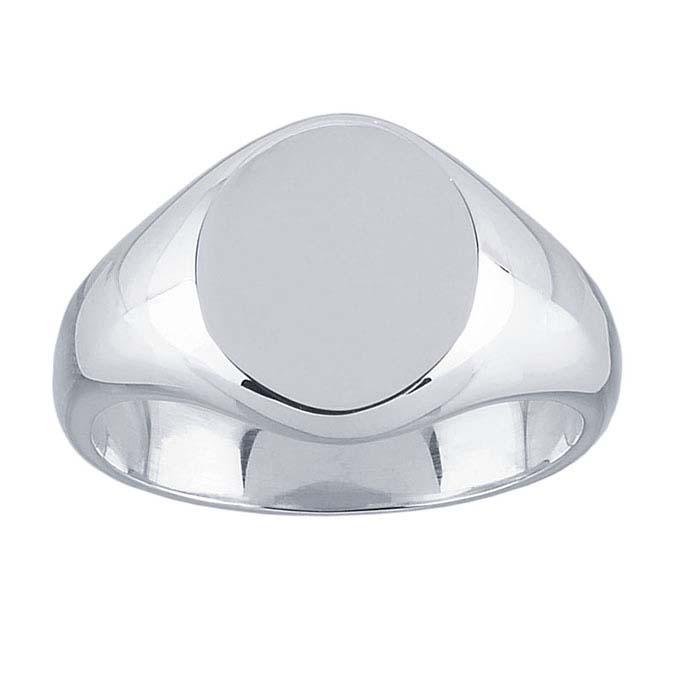 Sterling Silver Signet Rings