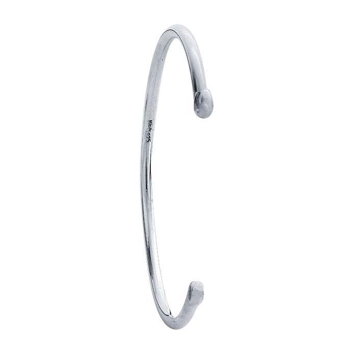 Sterling Silver Handcrafted Bracelet Component