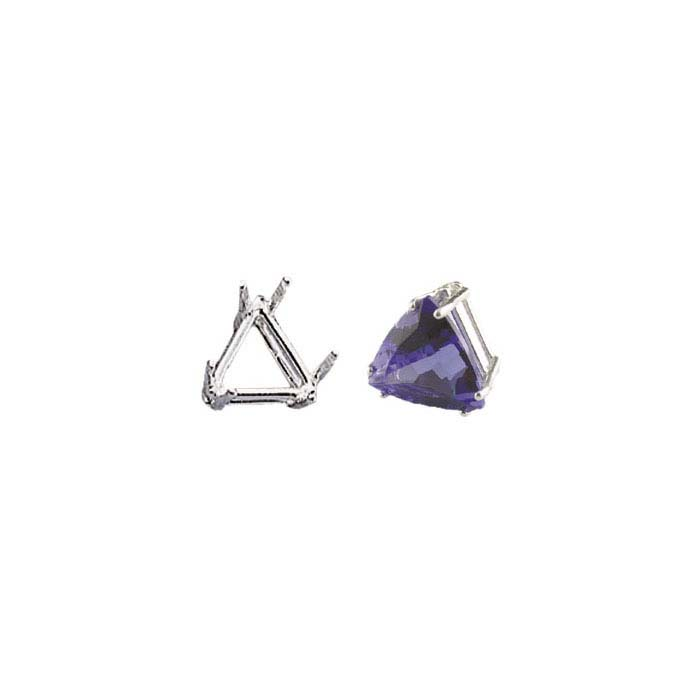 Sterling Silver Triangle ReadySet™ 6-Prong Settings