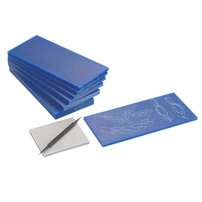 Matt™ Blue Precision Wax Tablets