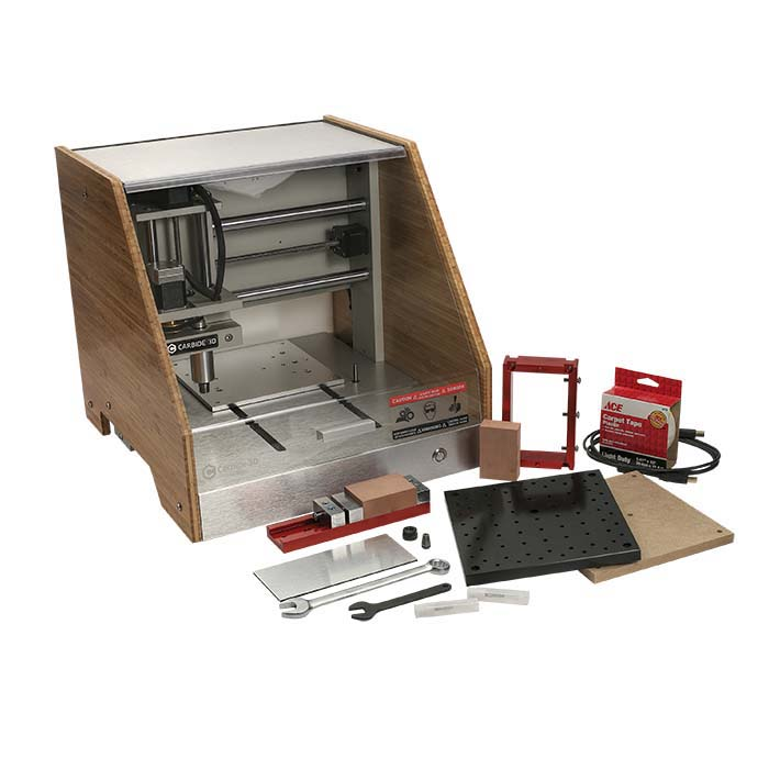 Carbide3D Nomad 883 Pro CNC Mill Package, Bamboo