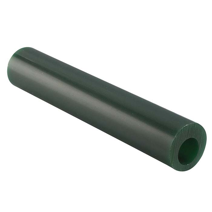 Matt™ Green Wax Ring Tube, Round, Off-Center Hole