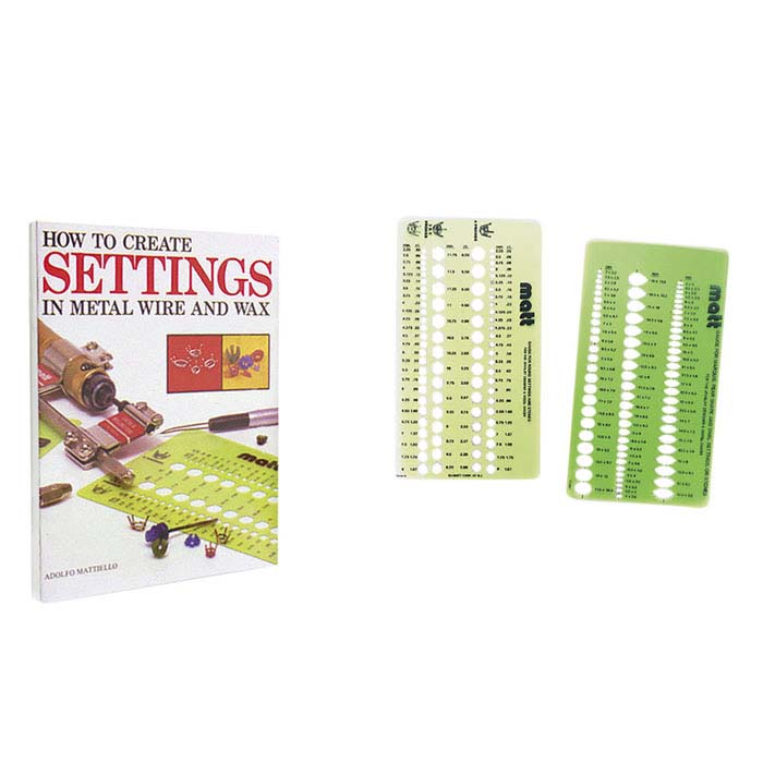 How to Create Settings in Metal Wire and Wax, Book and Template Kit