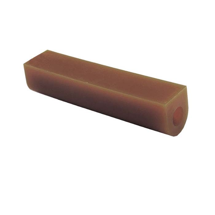 Wolf Wax Ring Tubes, Flat-Top, Center Holes