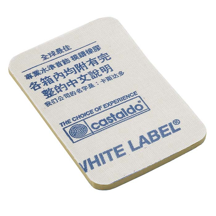 "Castaldo® White Label 1/8"" Natural Mold Rubber Redi-Cut Pre-Cut Forms, 5 lbs."