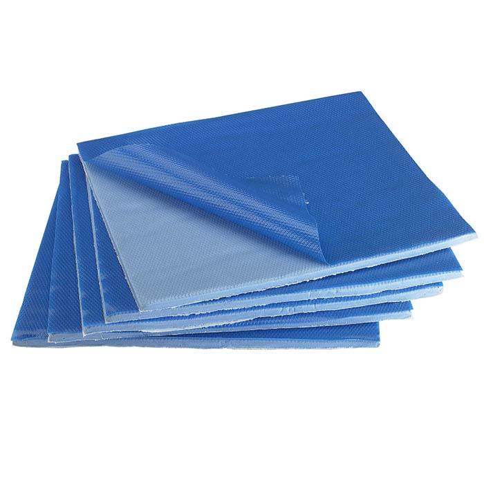 """Gemini Blue 1/4"""" Silicone Mold Rubber, 5 lbs."""