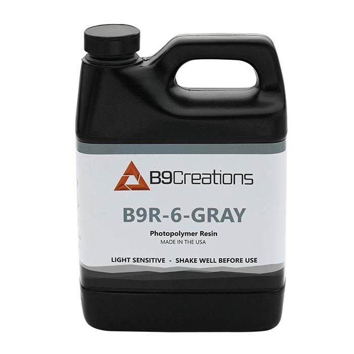 B9Creations Gray Molding Resin, 1kg