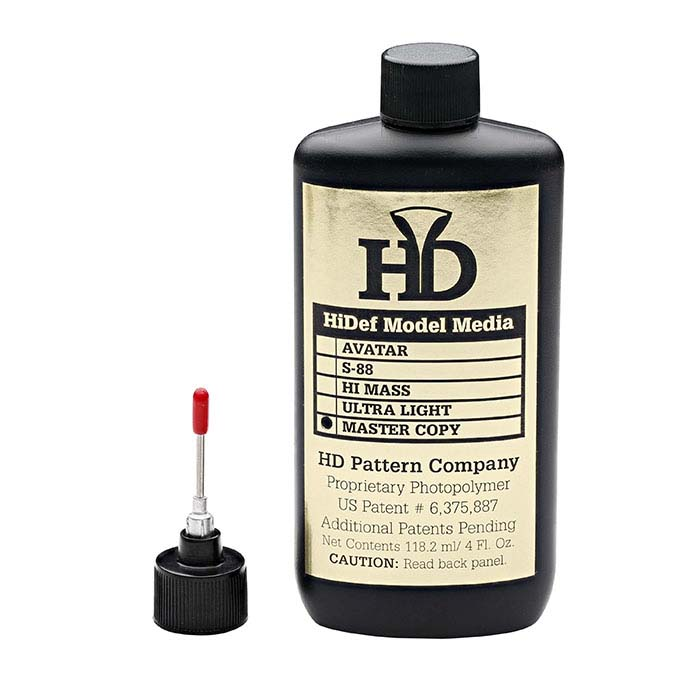 HD Pattern Master Copy Photopolymer Injection Solution
