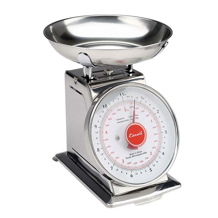 Spring-Driven Analog Investment Scale, 11-lb. (5kg)