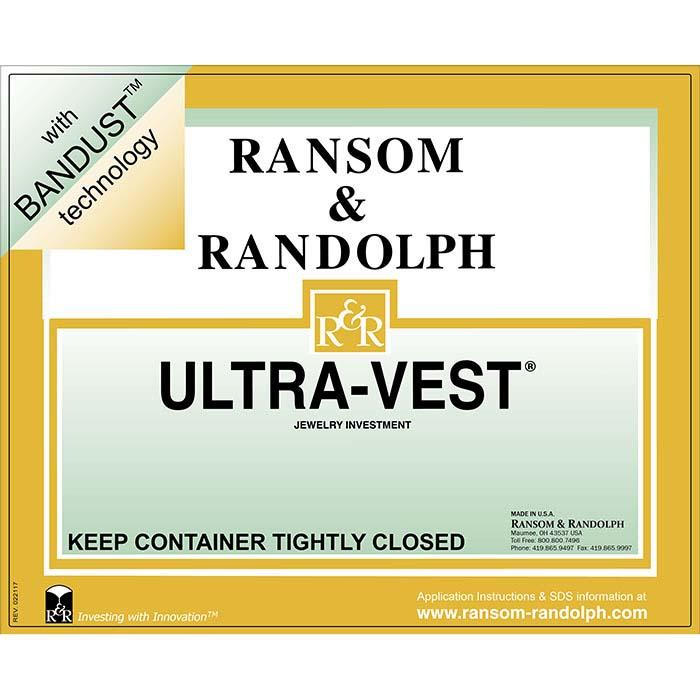 Ransom & Randolph® BANDUST™ Ultra-Vest® Investment, 50 lbs.