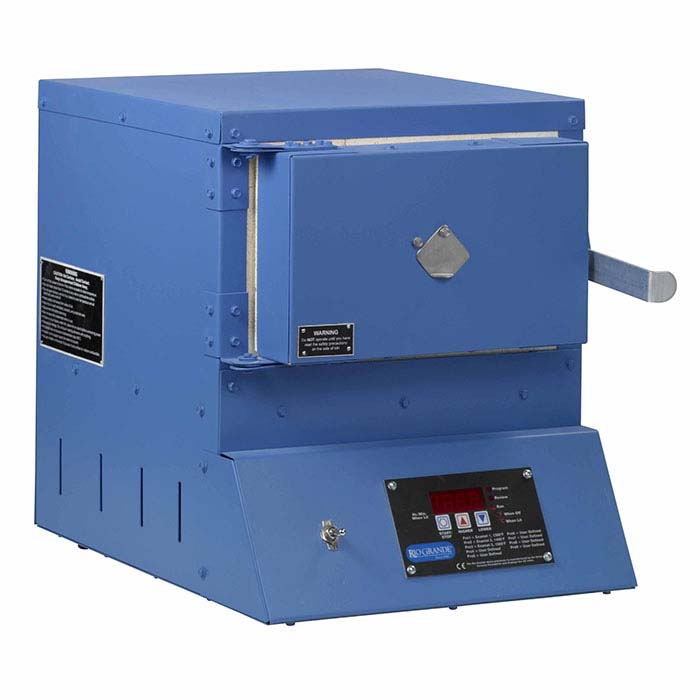 Rio Model 900 Enameling Kiln with Nine Program Controller