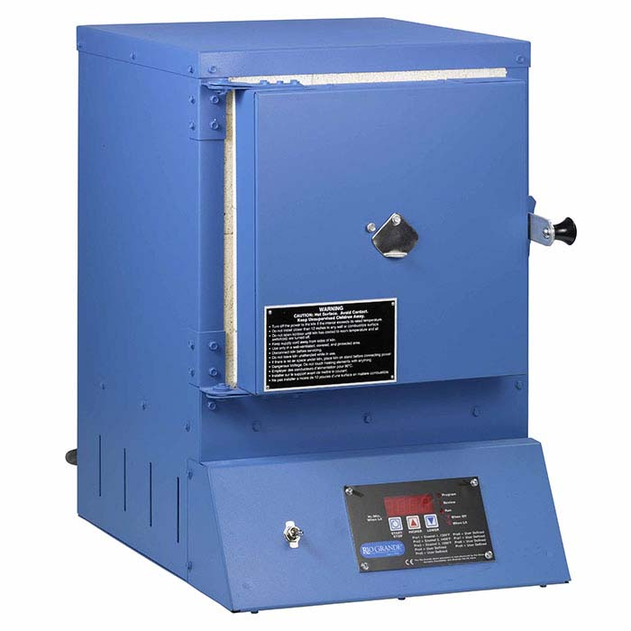 Rio Model 1000 Enameling Kiln with Nine Program Controller