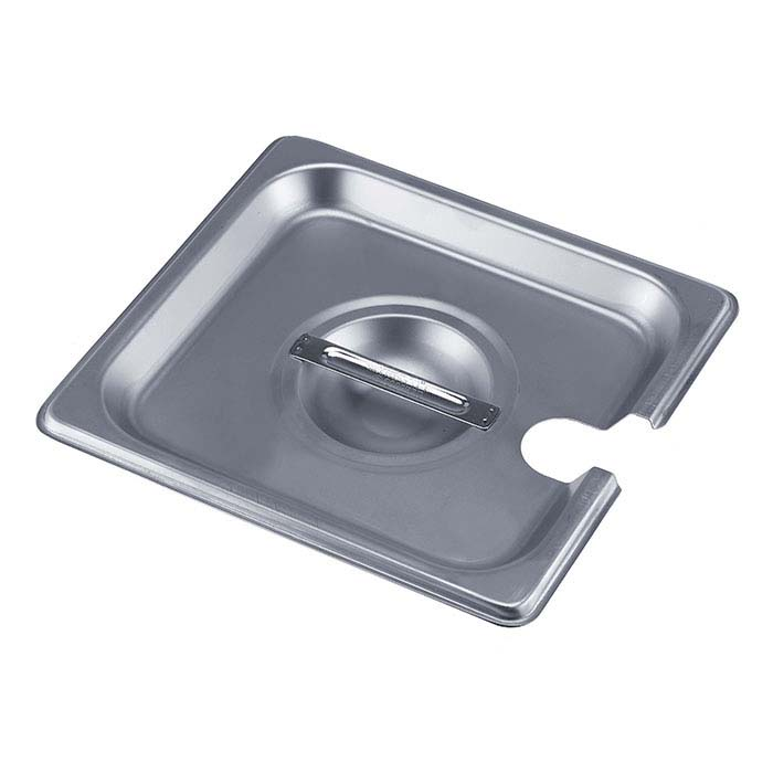 Stainless Steel Slotted Lid for Square Firing Pans