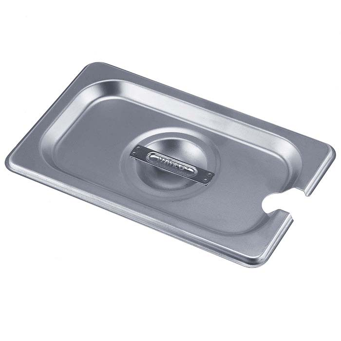 Stainless Steel Slotted Lid for Rectangle Firing Pan