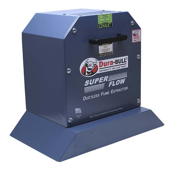 Dura-BULL® Ductless Fume and Dust Extractor