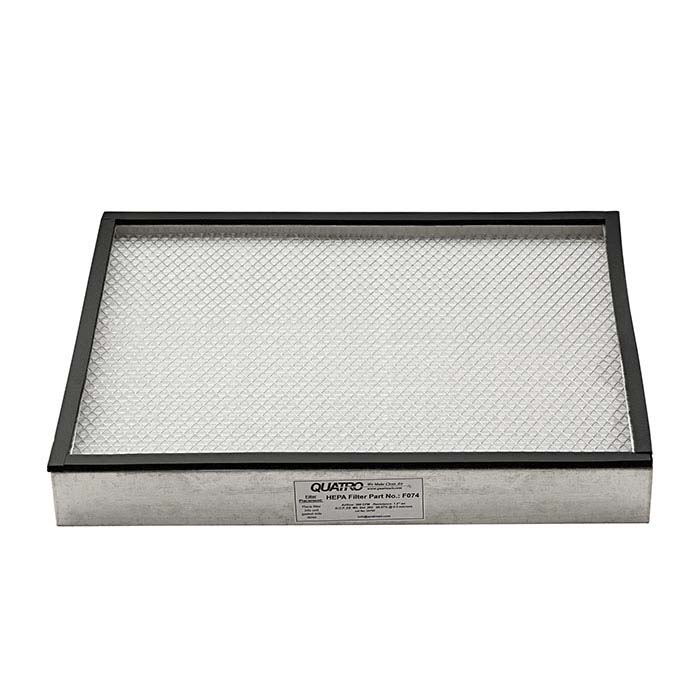 Replacement HEPA Filter for Quatro Air Desktop Mounted Rhodium Filter