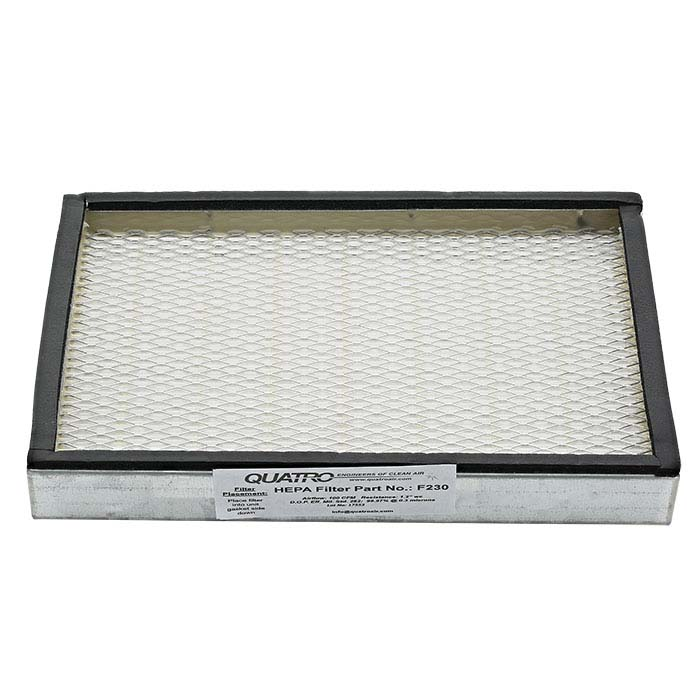 Replacement Quatro Gold Vault F230 HEPA Filter