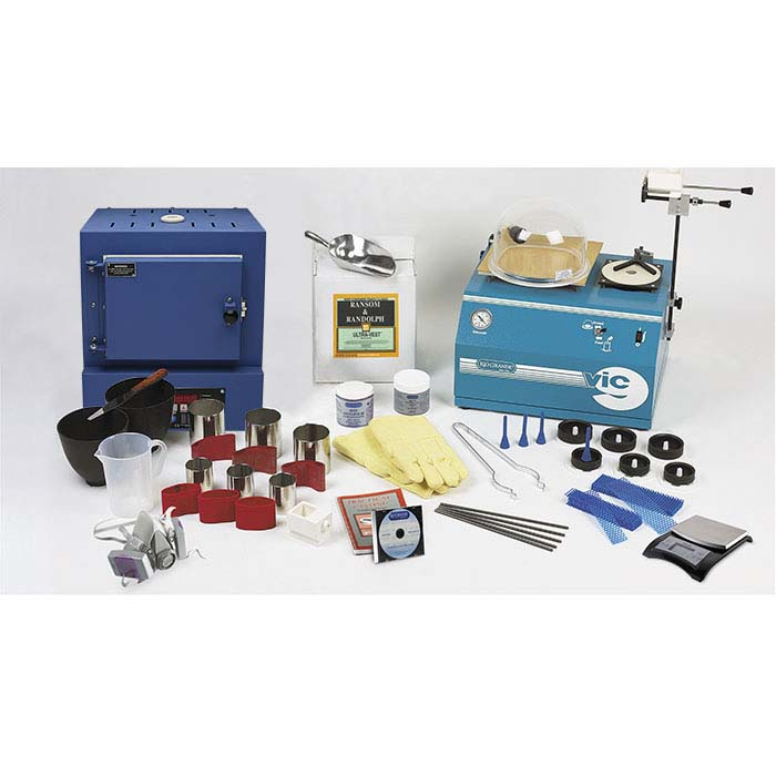 V.I.C.™ 9 Casting System with Kiln and Controller, 110-Volt