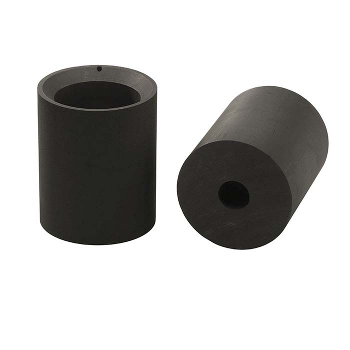 C-50 Graphite AutoValve™ Alloying Crucible for Neutec 610, 90mm