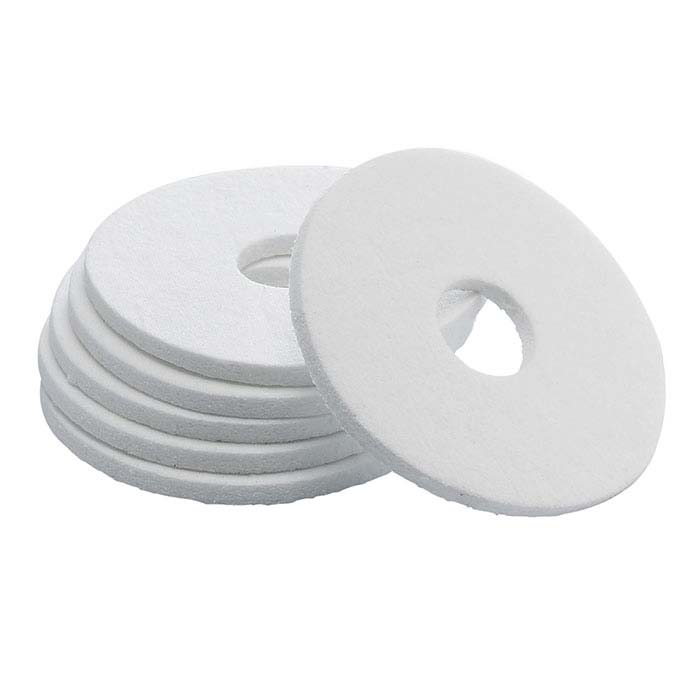 Ceramic Fiber Crucible Bottom Gasket for Neutec 510 and 515