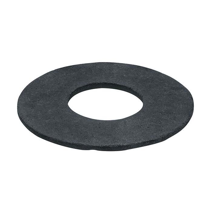 Carbon-Impregnated Ceramic Fiber Crucible Bottom Gasket for GrainPro