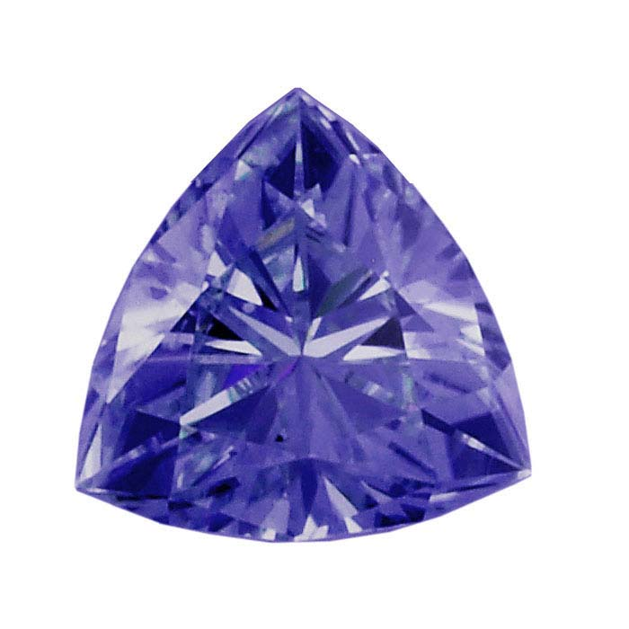 Tanzanite Trillion Faceted Stones, AA-Grade