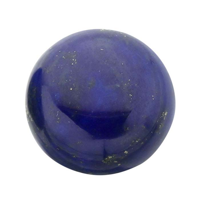 Lapis Lazuli 10mm Round Cabochon, AA-Grade