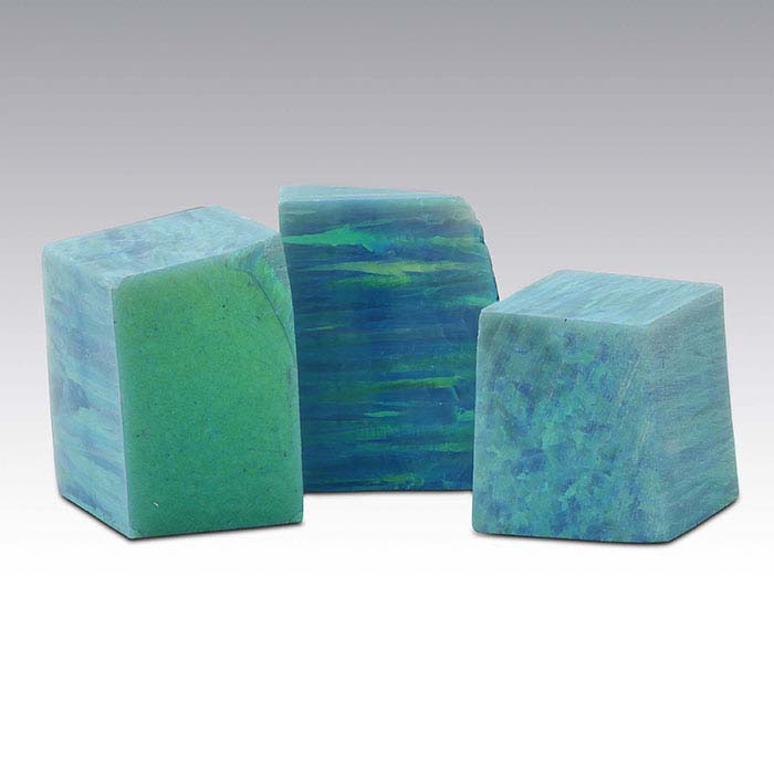 "Kyocera Kiwi Opal 3/4"" x 3/4"" Block"