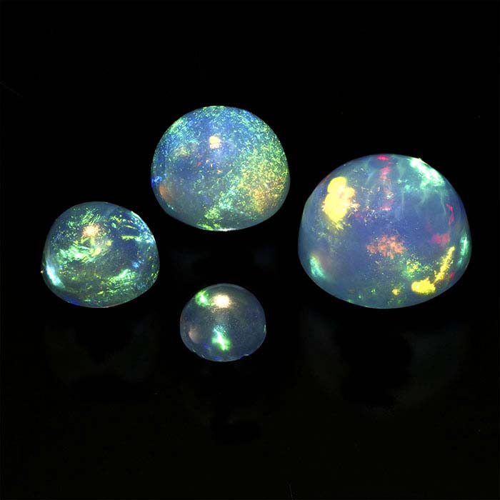 Ethiopian Opal 5mm Round Cabochon