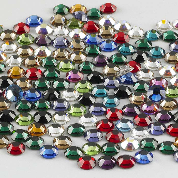 Swarovski® Crystals Round Flat-Back Crystal Assortments