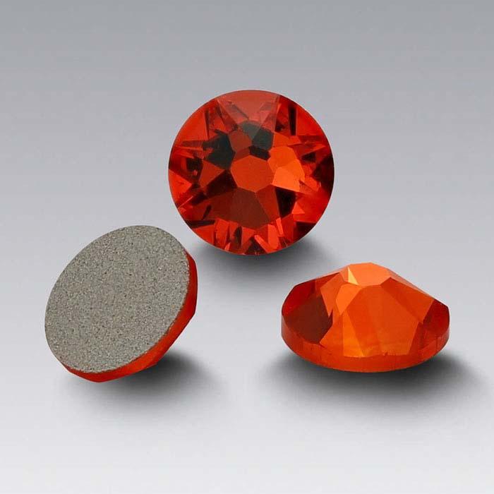 Swarovski® Crystals Round Flat-Back Crystals, Hyacinth
