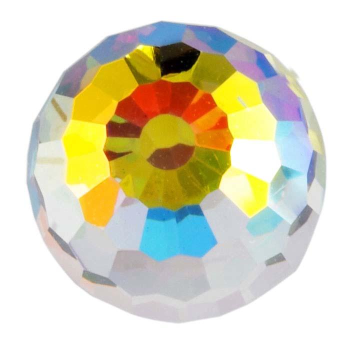 Swarovski® Crystals Round Flat-Back Crystals, Crystal AB