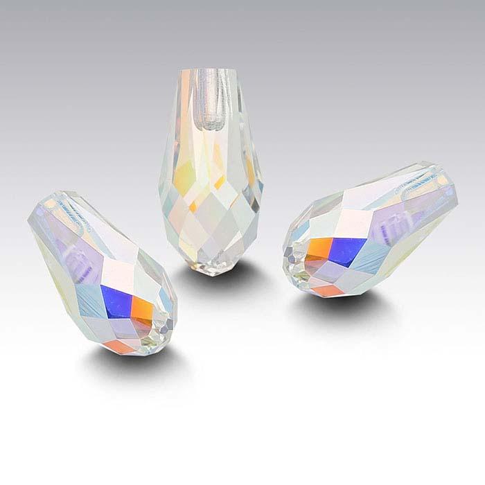 Swarovski® Crystals 12 x 6mm Teardrop Pendant, Crystal AB