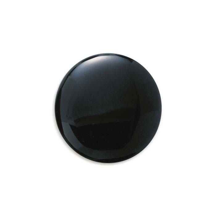 Black Onyx Round Calibrated Cabochons