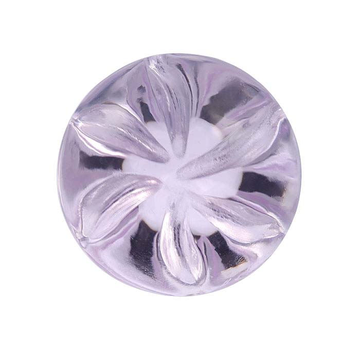 Vortex™ -Cut Rose De France Amethyst Round Faceted Stones