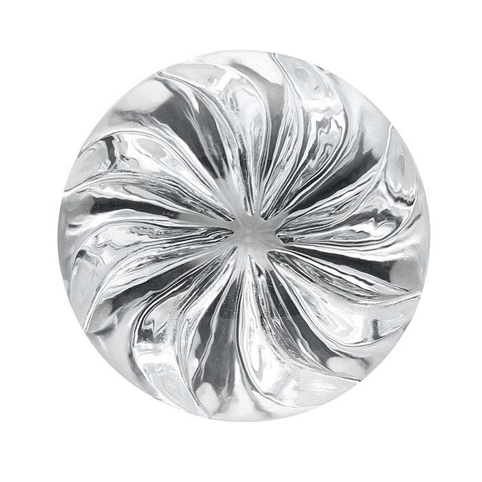 Vortex™ -Cut White Topaz Round Faceted Stones