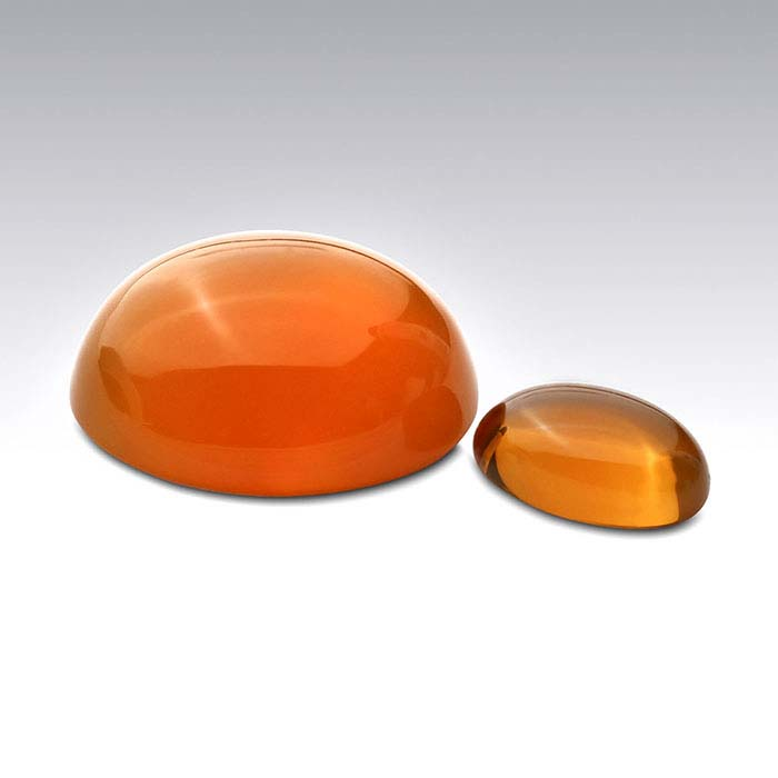 American Mined™ Lake County Fire Opal™ 6 x 4mm Oval Cabochon