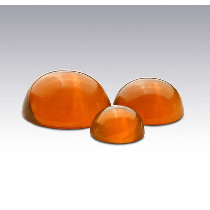 American Mined™ Lake County Fire Opal™ 10mm Round Cabochon