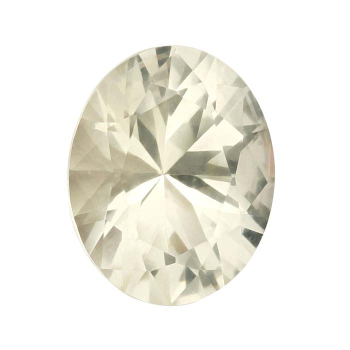 American Mined™ Oregon Champagne Sunstone™ 8 x 6mm Oval Faceted Stone