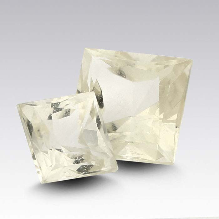 American Mined™ Oregon Champagne Sunstone™ 8mm Princess Faceted Stone