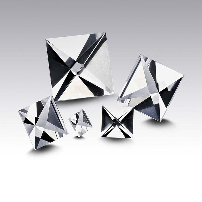 CONTEXT CUT™ Lab-Created White Sapphire 4mm Square Faceted Stone