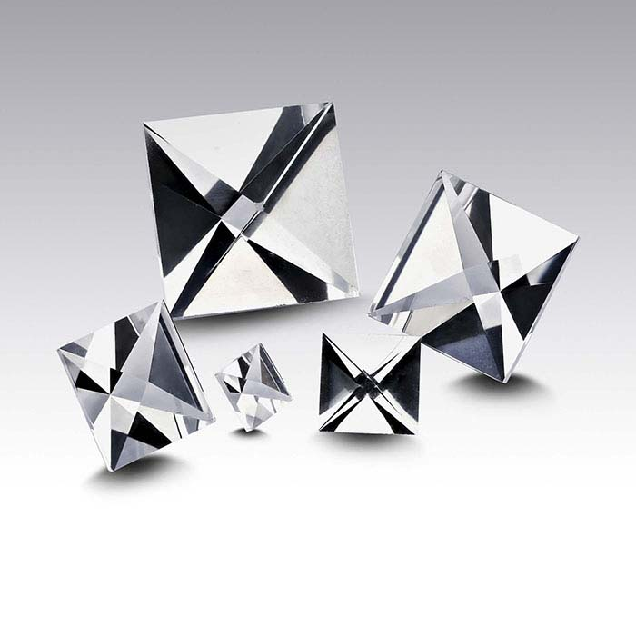 CONTEXT CUT™ Lab-Created White Sapphire 10mm Square Faceted Stone