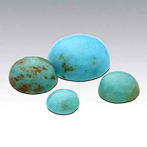 American Mined™ Mona Lisa Turquoise™ Round Cabochons