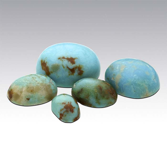 American Mined™ Mona Lisa Turquoise™ Oval Cabochons